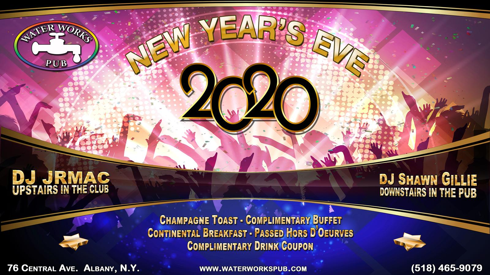 New Year's Eve at Waterworks Pub